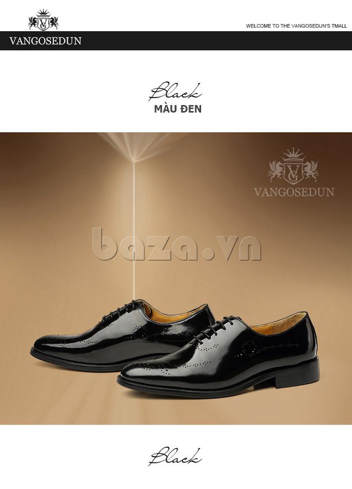 Giày da nam VANGOSEDUN VG6010 ấn tượng