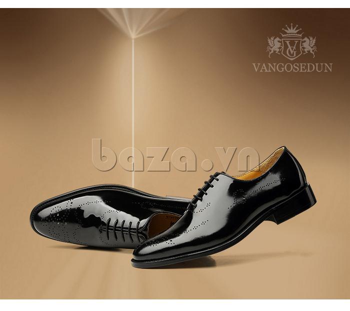 Giày da nam VANGOSEDUN VG6010 cá tính cho nam giới