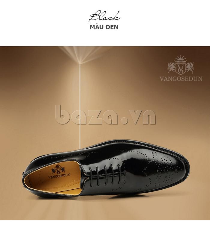 Giày da nam VANGOSEDUN VG6010 kiểu dáng cổ điển