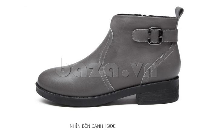mặt ngang của Giày Chelsea boots nữ cổthấp Acesc 1589
