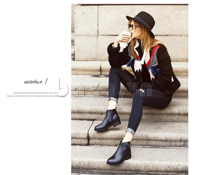 Giày Chelsea boots  Acesc 1589