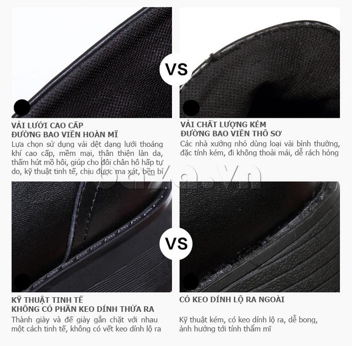 điểm ưu việt của Giày Chelsea boots nữ cổthấp Acesc 1589