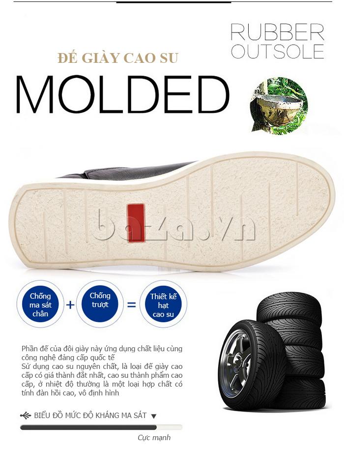 giày chống trơn của Giày da nam phong cách Urban CDD D733