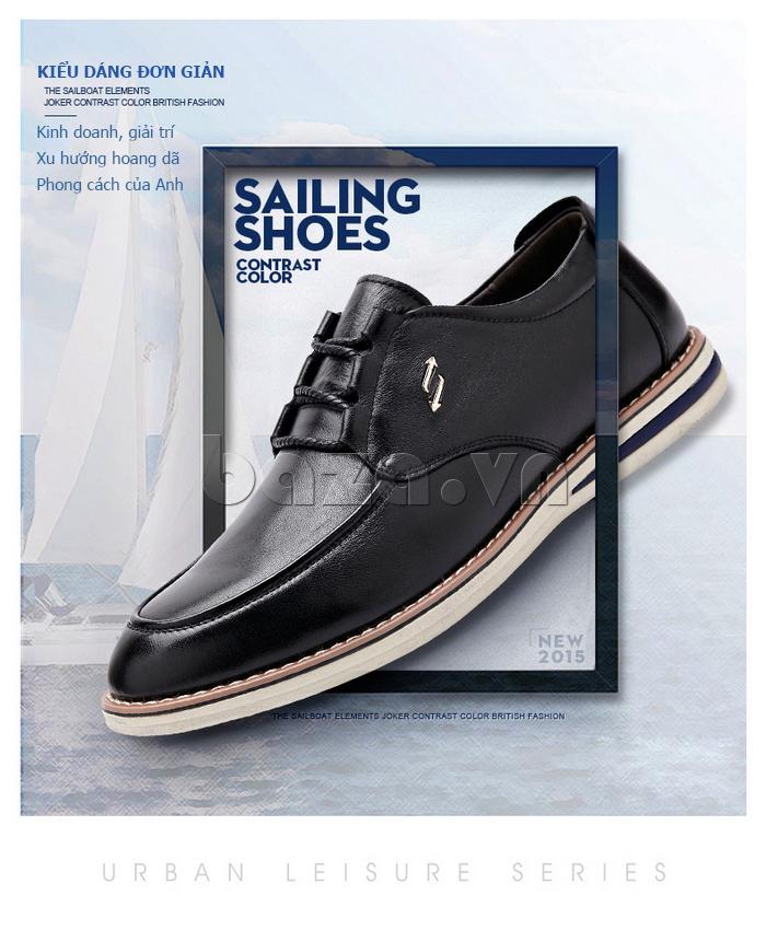 Giày da nam công sở phong cách Urban CDD D733
