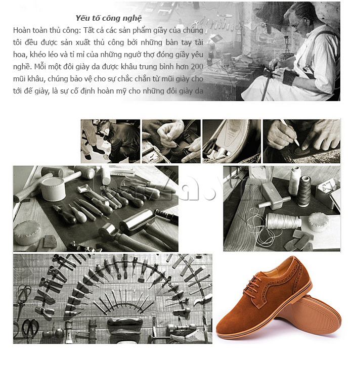 chế tác giày da CDD