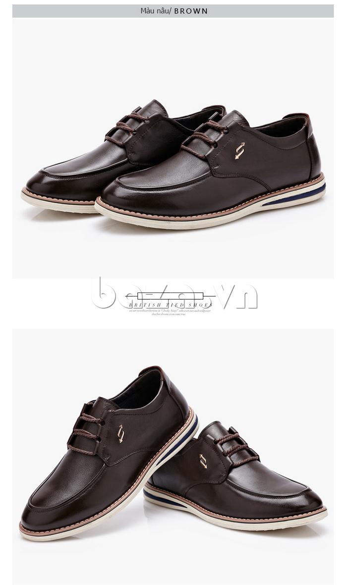Giày da nam công sở  CDD D733