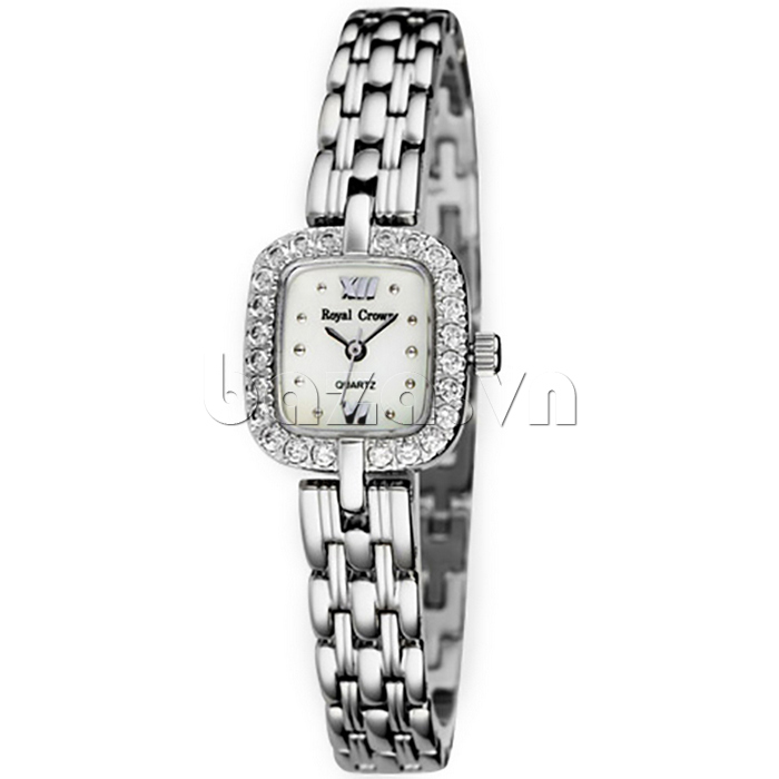 Đồng hồ nữ Royal Crown 3602 mặt vuông