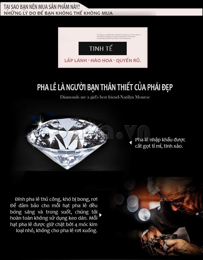 Bạn không thể không mua chiếc đồng hồ nữ tuyệt tác này