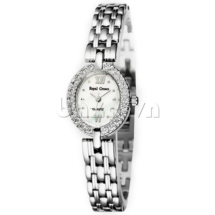Đồng hồ nữ Royal Crown 3602 mặt Oval