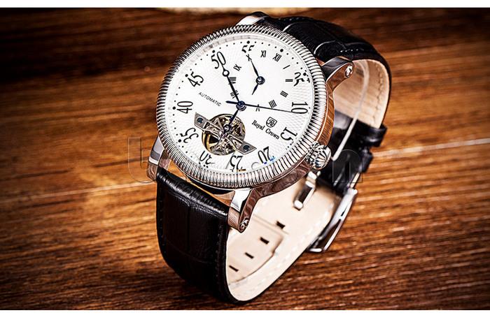 Đồng hồ cơ Royal Crown 8306 hiện đại