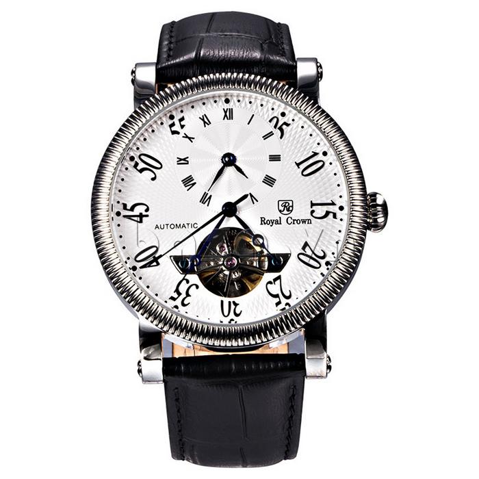 Đồng hồ cơ Royal Crown 8306 phong cách thành đạt