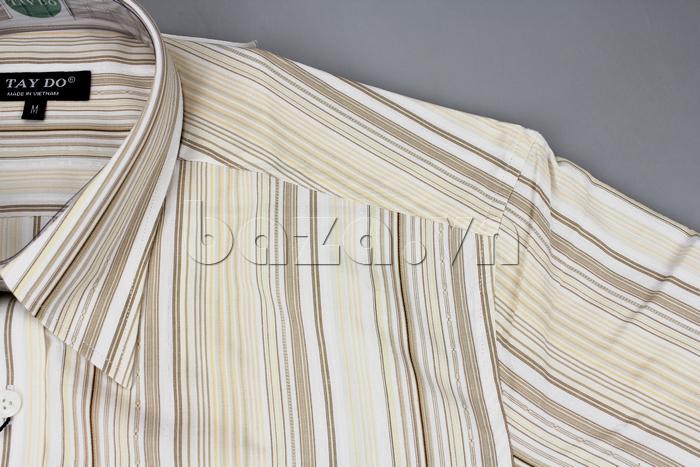 chất liệu cotton, kiểu dáng cổ truyền thống lịch lãm hãy chọn ngay chiếc áo sơ mi nam này ngay nhé