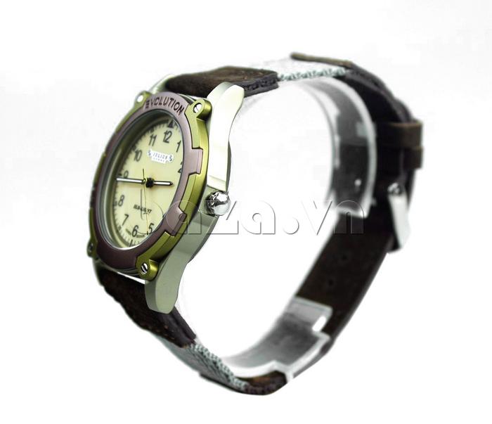 Đồng hồ nam dây da Julius JAH-070