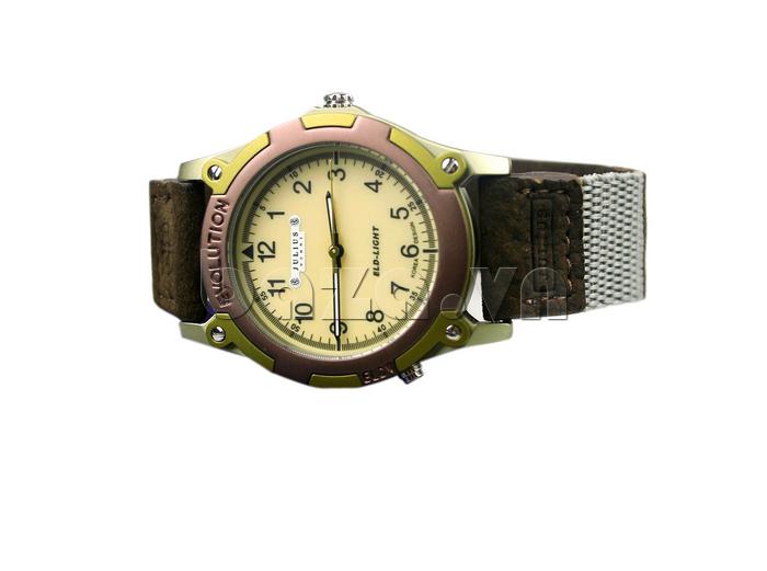 Đồng hồ nam Julius JAH-070 phong cách retro