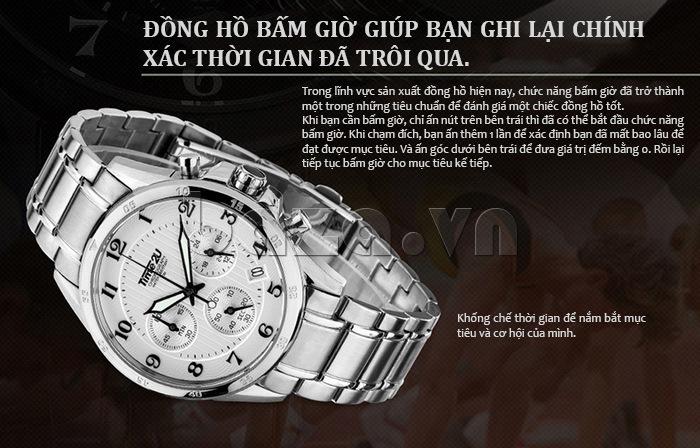 Đồng hồ nam thời trang Time2U xem giờ chính xác
