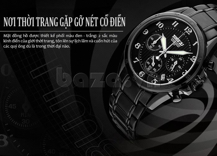 Đồng hồ nam thời trang Time2U cổ điển