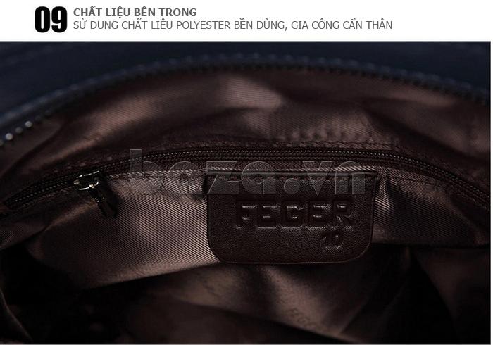 Túi xách nam thương gia Feger 951-2 - chất liệu bên trong cao cấp