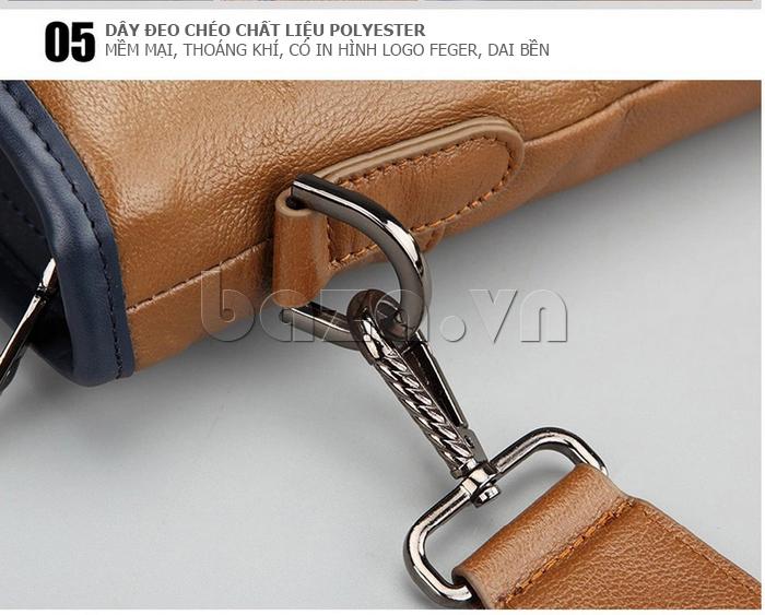 Túi xách nam thương gia Feger 951-2 - dây đeo chéo hiện đại