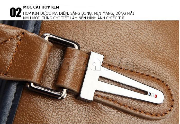 Túi xách nam thương gia Feger 951-2 - móc cái hợp kim chống gỉ