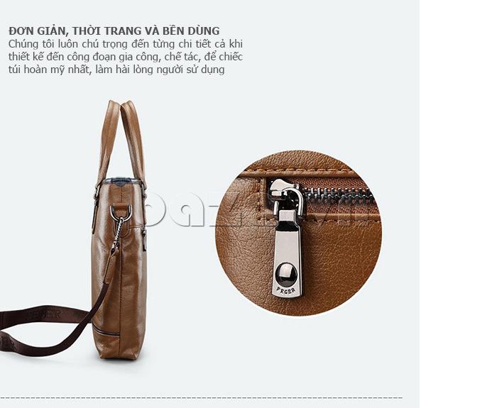 Túi xách nam thương gia Feger 951-2 - đơn giản mà thời trang
