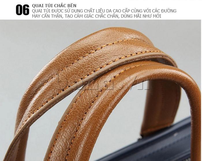 Túi xách nam thương gia Feger 951-2 - quai túi chắc bền