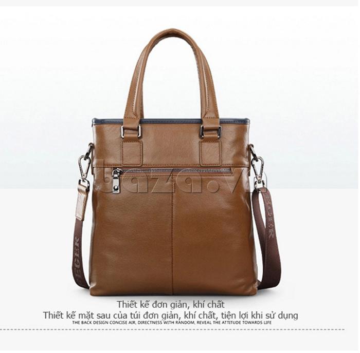 Túi xách nam thương gia Feger 951-2 - thiết kế đơn giản mà khí chất
