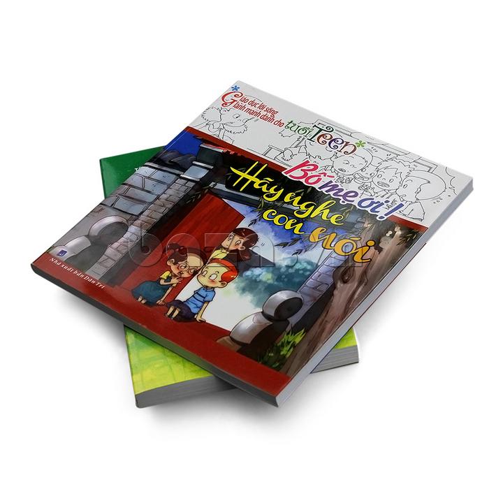 Cuốn sách Bố mẹ ơi hãy nghe con nói là tập sách tuyệt vời