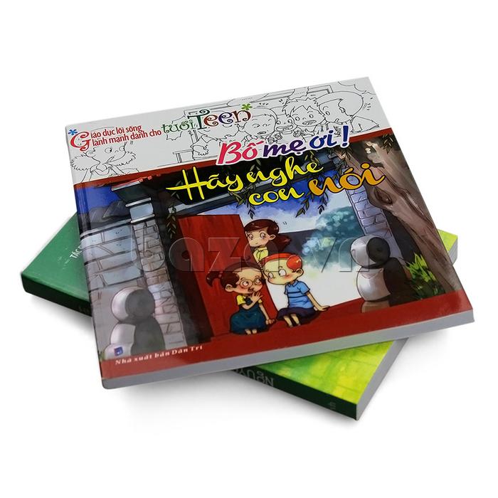 Cuốn sách Bố mẹ ơi hãy nghe con nói là tập sách hoàn hảo