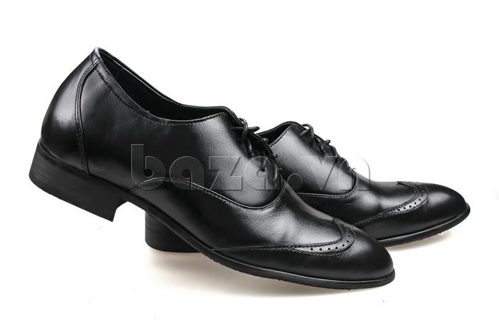 Giày nam tăng chiều cao Max Dovin AG001 mặt đục lỗ thu hút mọi ánh nhìn