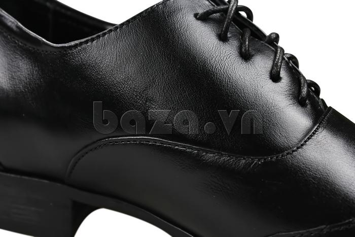 Giày nam tăng chiều cao Max Dovin AG001 mặt đục lỗ đường may tỉ mỉ