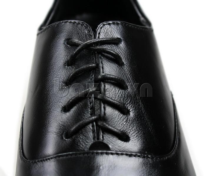 Giày nam tăng chiều cao Max Dovin AG001 mặt đục lỗ chất da sáng bóng
