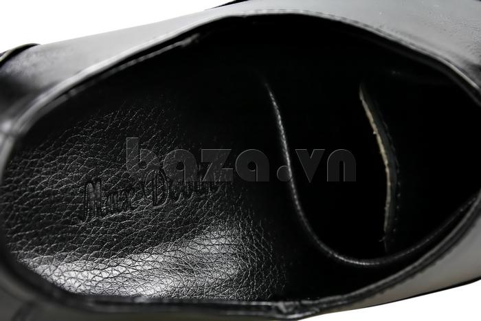 Giày nam tăng chiều cao Max Dovin AG001 mặt đục lỗ giày nam chính hãng