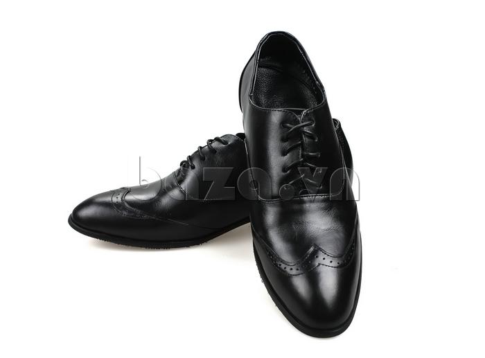 Giày nam tăng chiều cao Max Dovin AG001 mặt đục lỗ lịch lãm và sang trọng