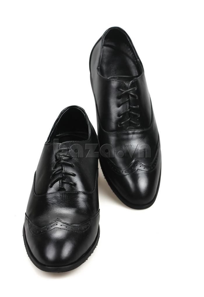 Giày nam tăng chiều cao Max Dovin AG001 mặt đục lỗ hoàn hảo từng chi tiết