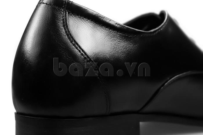 Giày nam tăng chiều cao Max Dovin AG001 mặt đục lỗ hàng giày nam thật