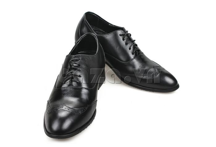 Giày nam tăng chiều cao Max Dovin AG001 mặt đục lỗ chất da thật