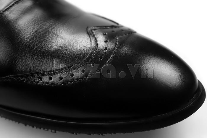 Giày nam tăng chiều cao Max Dovin AG001 mặt đục lỗ vẻ đẹp lịch lãm