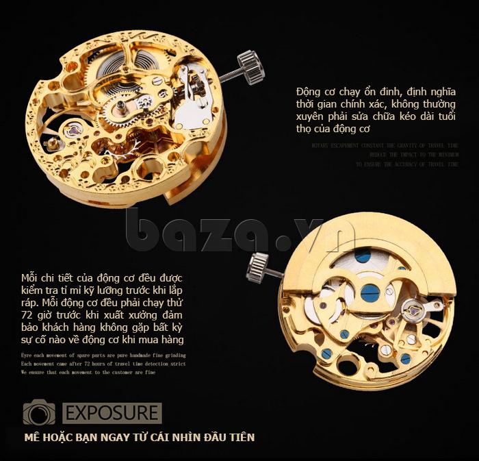 Đồng hồ nam Brigada 6006 thiết kế lạ
