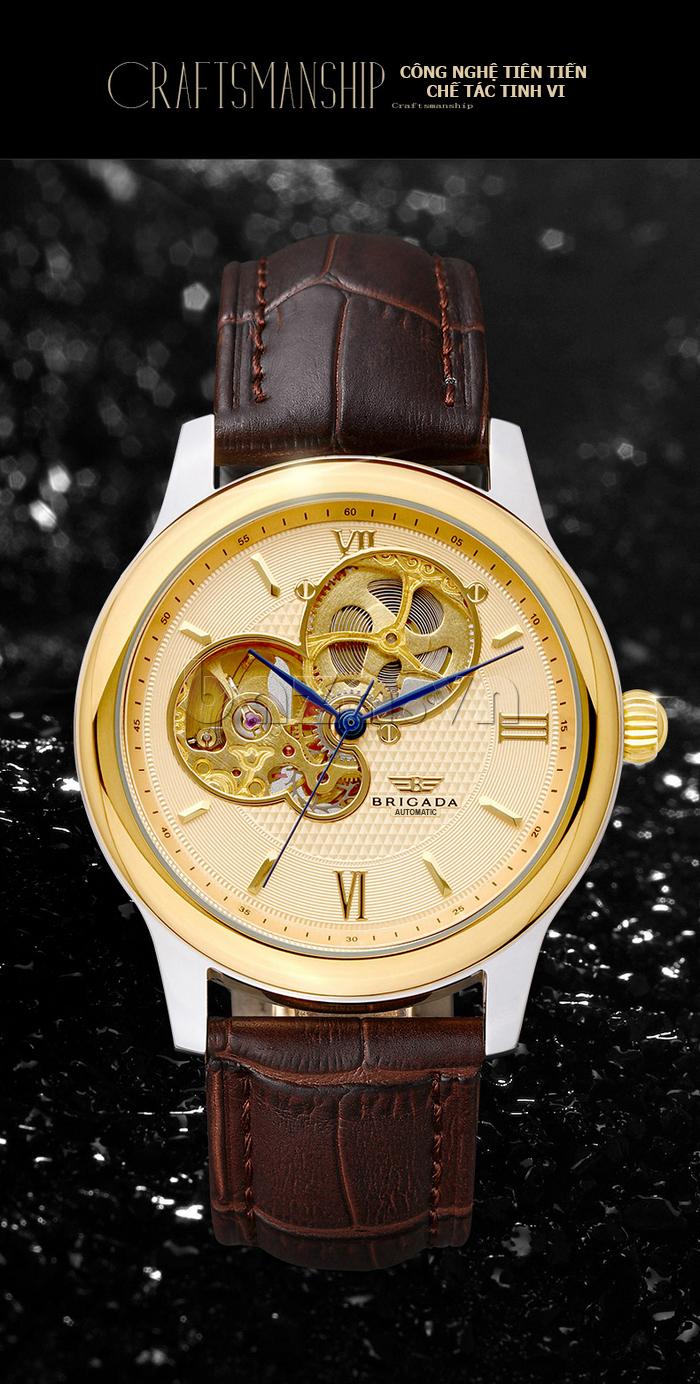 Đồng hồ nam Brigada 6006 thiết kế thời trang