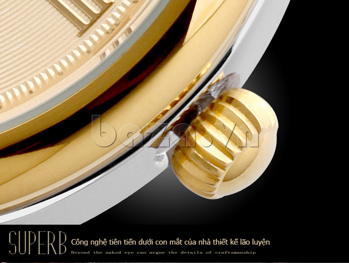 Đồng hồ nam Brigada 6006 thiết kế phong cách