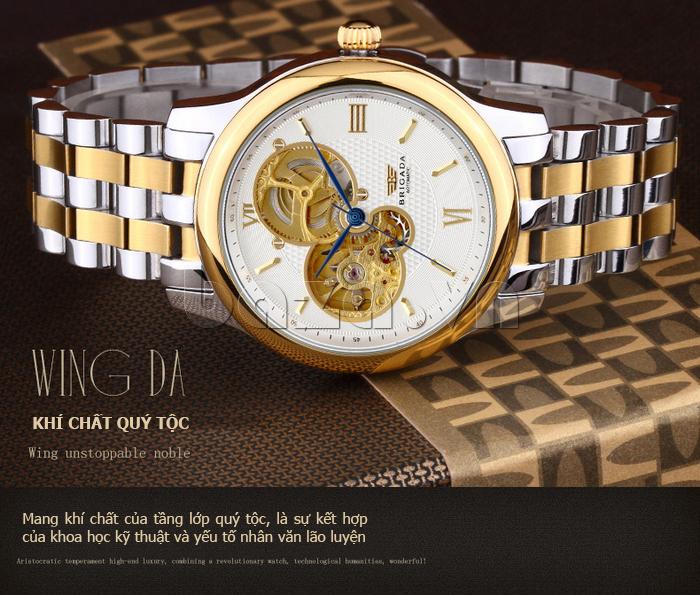 Đồng hồ nam Brigada 6006 phong cách