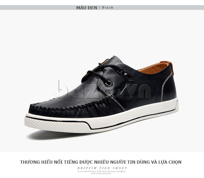 Giày da nam Simier 8116 cổ điển