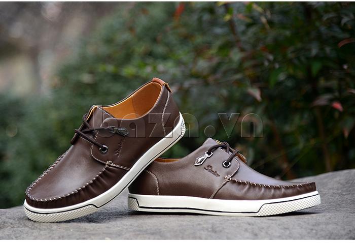 Giày da nam Simier 8116 độc đáo