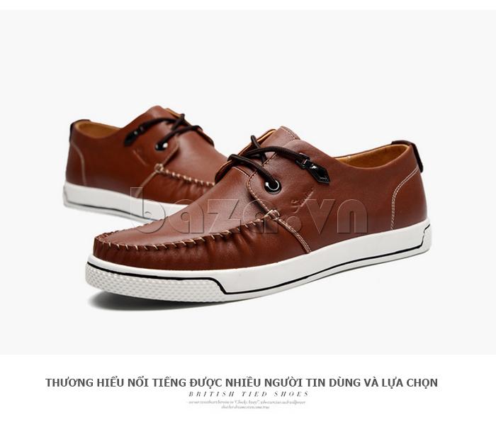 Giày da nam Simier 8116 mạnh mẽ