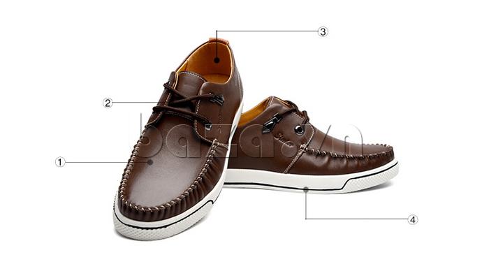 Giày da nam Simier 8116 - hoàn hảo từng chi tiết