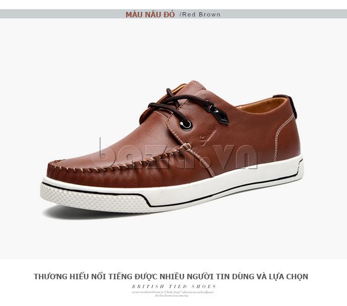 Giày da nam Simier 8116 dẫn đầu xu hướng