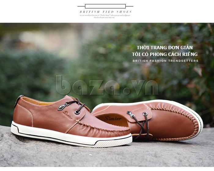 Giày da nam Simier 8116 - định hình cá tính