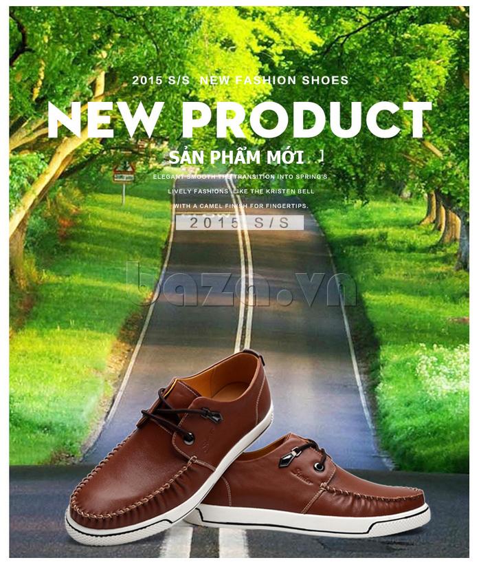 Giày da nam Simier 8116 sản phẩm mới nhất