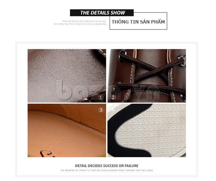 Giày da nam Simier 8116 - thông tin sản phẩm