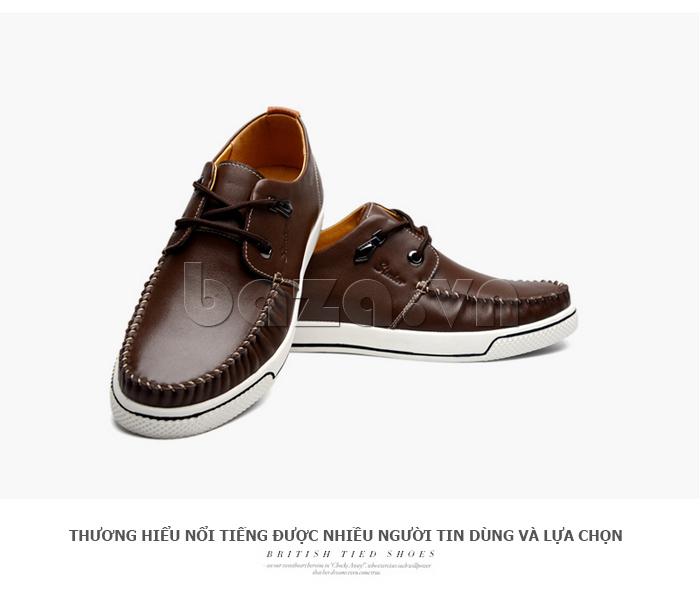 Giày da nam Simier 8116 trẻ trung